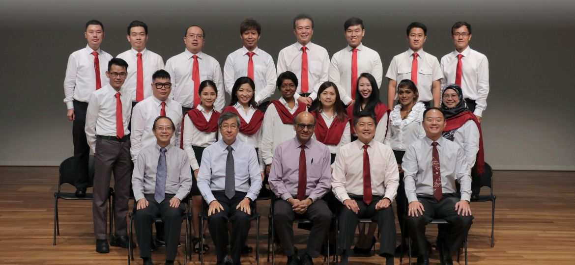 Ong Teng Cheong Institute Graduation Ceremony 23 November 2019 Certificated Series in Industrial Relations (Level 1) with IHRP Certification in Employment Law and Regulations (Basic)